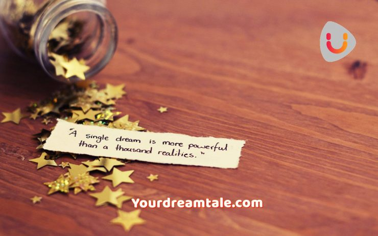 It's never too late to realise your dream, yourdreamtale.com