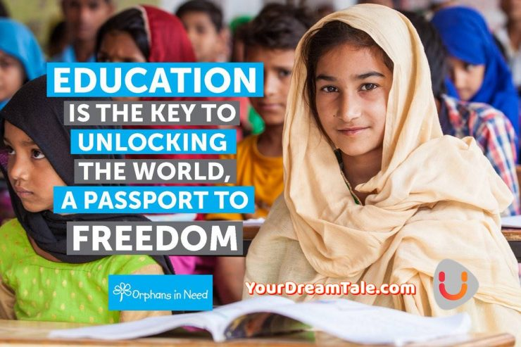 Reason Behind the Difference between Education Status of Orphan and Non -Orphan, Yourdreamtale.com
