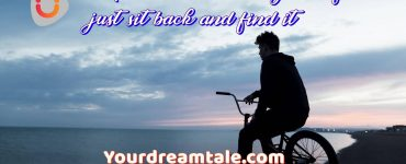 Inspiration is within yourself just sit back and find it, Yourdreamtale.com