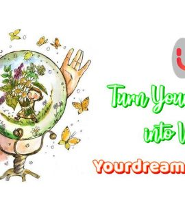Turn your dreams into visions, Yourdreamtale.com