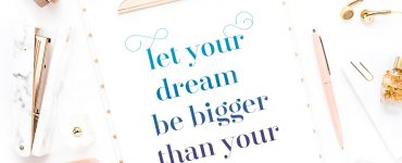 Let your dream be bigger than your fear, Yourdreamtale.com
