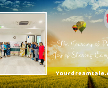 The Journey of Pehel- Joy of Sharing Campaign, Yourdreamtale.com